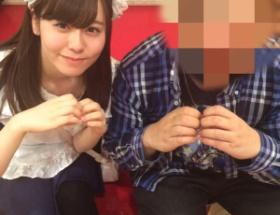 フェラ画像流出の元SKE48、メイド喫茶で勤務開始
