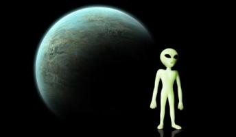 近く宇宙人と遭遇する。食べることもできるかも。