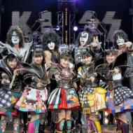 ももクロと米ハードロックバンド「KISS」がコラボ!来年1月にシングルを発売!!【画像あり】 アイドルファンマスター