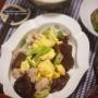 【献立】豚肉ときくらげのふわふわ卵炒め。~83歳でもWikipedia~