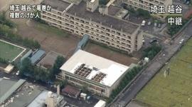【画像】埼玉で竜巻とみられる突風が発生 少なくとも27人けが