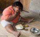 インドの9歳の女の子が体重が92キロで世界一の肥満児に