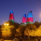 『アゼルバイジャン観光 フレイムタワー』の画像