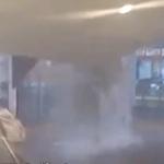【動画】中国、上海のショッピングモールの天井が崩落!付近の客は慌てて逃げ出す!