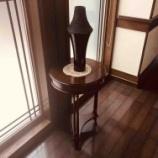 『三木町にマホガニー材のコンソールを納品』の画像
