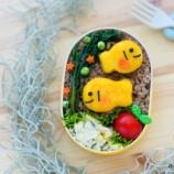 『元気カラーのいももちのお魚くんのキャラ弁』の画像