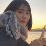 『飛鳥ちゃんと桃ちゃんと与田ちゃんが食べたあの食べ物をレイちゃんも食べた模様w【乃木坂46】』の画像