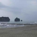 『【北海道ひとり旅】太平洋ドライブ 様似町『親子岩』』の画像