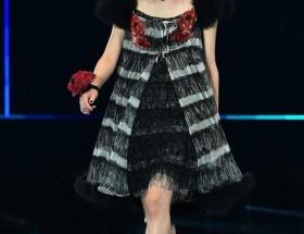 【悲報】東京ガールズコレクションのランウェイを歩く生駒里奈が超絶ブサイクwww