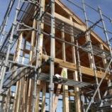 『続! 週末住宅建築日記 その10 野地板まで完了。』の画像