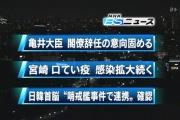 亀井郵政改革担当相、辞任へ
