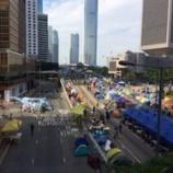 『【香港占拠行動】ハンストで訴える学生たち』の画像