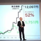 『【マジかよ】SBG孫正義「ワイの株価、いくらなんでも下がりすぎ。 時価純資産に対して50%以上割安な現在は買いのチャンスだ。だから買え」』の画像