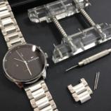 『店頭にて腕時計のバンドサイズ調節いたします!』の画像