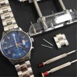 『腕時計のサイズ調節なら★TIME'S GEARみのおキューズモール店にお任せ!』の画像