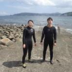 新宿地元密着、少人数制ダイビングスクールで、初めて未経験者向けダイビングライセンスを取得