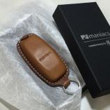 『maniacs Leather key shell (Audi-B type)新発売!!』の画像