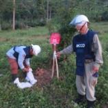 『2015.10.31 地雷回収』の画像