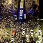 【動画】中国、重慶で数千人規模のデモ隊と警官隊が衝突!市民の不満がついに爆発!
