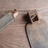 『唐鍬(筍鍬)を修理する その1 ‐折れた柄の修理‐』の画像