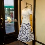 『夏の店頭新作スカート完成。』の画像