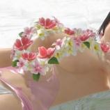 『ほぼ上ヌードに花飾りのこころ【DOAXVV】』の画像