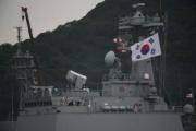 韓国駆逐艦が横須賀入港 13年ぶり自衛隊観艦式参加