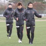 『ツエーゲン金沢 チームが始動! 開幕戦は愛媛FC DF太田、今季も「チームを盛り上げる」』の画像