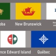 海外「カナダの州旗を日本の都道府県旗風にデザインしてみた」カナダの日本風州旗デザイン案に対する海外の反応