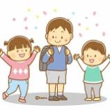 『【クリップアート】ランドセルを背負う1年生と子どもたちのイラスト』の画像