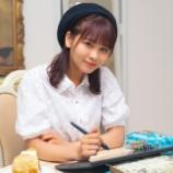 『[まるまる女子] 大場花菜さんがチョコミントに囲まれながら…♪【イコラブ】』の画像