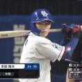 京田陽太「打てばいいんでしょ?」 → 打撃9部門で規定打者最低