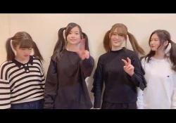 【動画】さゆりんご軍団、ツインテール美女×4めちゃくちゃ可愛いやんwwwwwwww