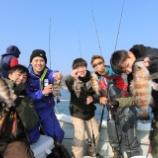 『2月21日 釣果 スーパーライトジギング メバル大漁です✊ 最大は尺超』の画像