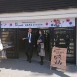 『「RUNE CAFE OKAZAKI」の内覧会へ』の画像