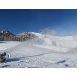 『出直しスキーレッスン。2日目朝は素晴らしい天気でした。』の画像