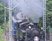 『東武鉄道鬼怒川線のC11と沿線の鉄橋など……』の画像