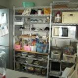 『スチールラックの収納術(メタル キッチン アイデア イケア ニトリ ブログ スチールラック』の画像