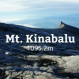『キナバル山登頂記。』の画像