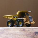 『ダイキャストマスターズ 建機コレクション Vol.03 Catシリーズ 770 ダンプトラック』の画像