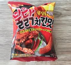 【韓国菓子】 ヘテ 辛ダンドントッポッキ ブルダック 【動画あり】