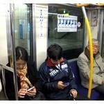 今電車乗ってんだが、老人に席譲らないカス共なんなんだよ