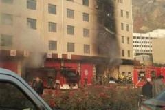 【中国】「もしもし火事です、すぐ来てくれ」 消防署で火災
