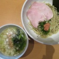 我武者羅@幡ヶ谷 「しそ昆布和え梅生姜つけ麺」