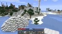 新しい釣堀を雪の王国に作る