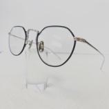 『Mr.Gentleman Eyewear、クラウンパント型メガネフレーム『EDWORD』入荷しました。』の画像
