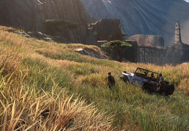 最近のゲームは草の表現にここまでやる