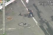 【滋賀】大津市のトンネルで ツーリング中の自転車9台の列に車が突っ込む 7人重軽傷