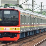 『205系武蔵野線第6陣、M18,M63編成運輸省試運転(11月28日)』の画像