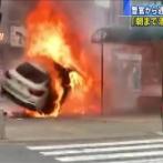 【画像】コラっぽい衝突事故、発見される